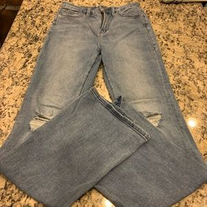 Good American Good Flare Jeans Size 6 28